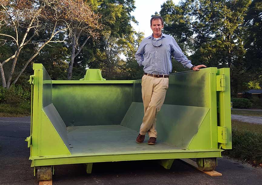 10-yard-dumpster