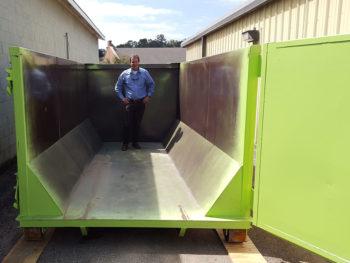20 cubic yard dumpster